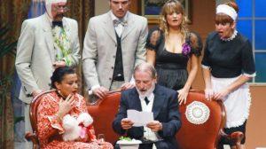 '¡Qué viene mi marido!' nace con el fin de reivindicar la comedia como género teatral específico y diferenciado.