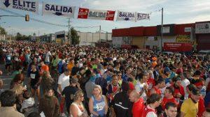 Salida de la pasada edición de la Media Maratón Sevilla-Los Palacios/SA