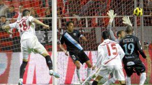 Álvaro Negredo anotó el empate 2-2 en el marcador/D.S.