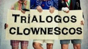 Esta navidad podemos asistir a Trialogos clownescos en Sala Cero. /sa