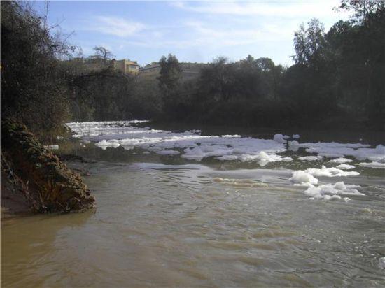 De nuevo, vertidos de sosa cáustica al río Guadaíra.