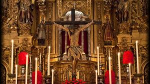 Cristo de la Salvación/Julio Galán