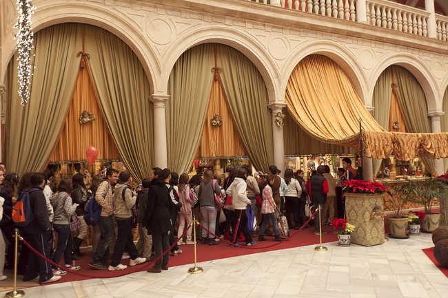 El nacimiento de la entidad ha recibido la visita de numerosas personas en estas fiestas