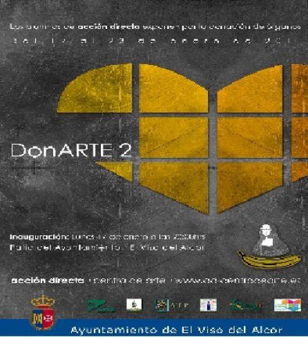 Cartel exposición DonArte