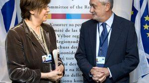 Griñán continúa su viaje institucional a Bruselas