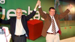 """Griñán ensalzó la figura de Espadas como """"un hijo hecho por los socialistas"""""""