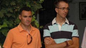 Jesús Rosendo y Javier Ramírez, dos de los ciclistas premiados por el Ayuntamiento