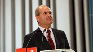 Manuel Chaves, vicepresidente tercero del Gobierno, ministro de Política Territorial y ex presidente de la Junta de Andalucía