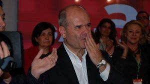 Manuel Chaves, vicepresidente tercero del Gobierno y ex presidente de la Junta de Andalucía