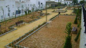 Las obras en el parque de La Campana terminará en apenas unos días