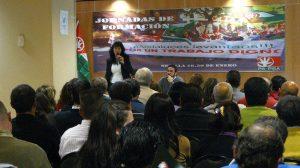 La líder andalucista pide un pacto nacional por el empleo