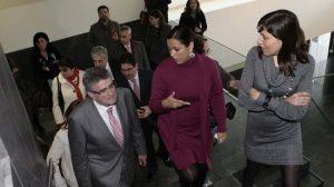 Pizarro pone a Morón como ejemplo de funcionamiento judicial