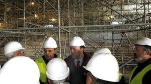 Cuando los trabajos acaben se llevarán a cabo jornadas de puertas abiertas y visitas con organizadores de congresos./SA