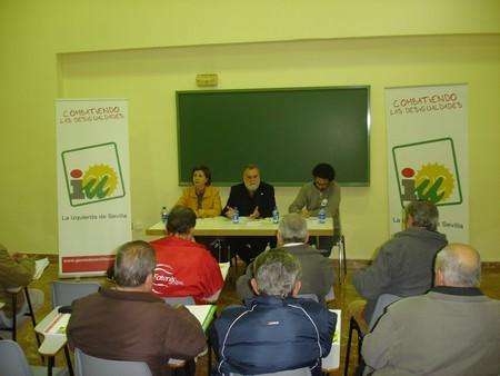 Antonio Rodrigo Torrijos señala que seguirá luchando por los derechos de los más mayores./Prensa IU