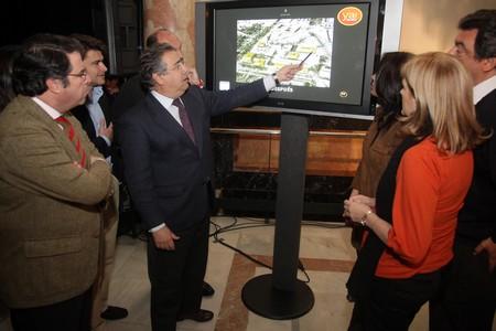 Juan Ignacio Zoido proyecta una infraestructura con seis edificios unidos por un sótano común para la creación de un 'distrito judicial'./Prensa PP