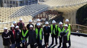 El Ayuntamiento permite visitar las obras del Metropol Parasol a través de cita previa en el 010/SA