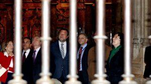 Monteseirín estuvo en la reapertura de Santa Clara/SA