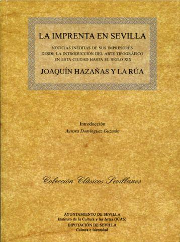 Con la introducción de Aurora Domínguez Guzmán, profesora del Departamento de Literatura Española de la Universidad de Sevilla, el libro es un repertorio de toda la producción bibliográfica de la ciudad de la mano de sus impresores, desde finales del siglo XV y durante la primera mitad del XVI, ordenado cronológicamente.