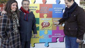 Juan Ignacio Zoido esta mañana en la presentación de sus propuestas para jóvenes/PP
