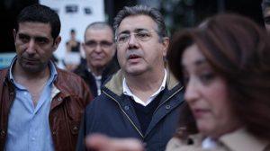 Juan Ignacio Zoido durante su visita a Sevilla Este/PP