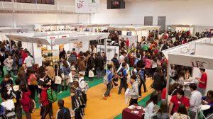XVI Salón del Estudiante celebrado en el Complejo Deportivo Universitario de Los Bermejales