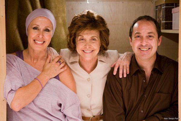 La obra está protagonizada por María Luisa Merlo, Miriam Díaz-Aroca y Jorge Roelas. /sa