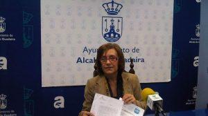 Carmen Rodríguez Honillo, esta mañana en rueda de prensa