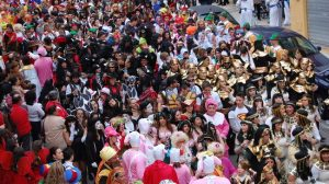 En 2010 vieron el Gran Desfile alrededor de unas mil personas.