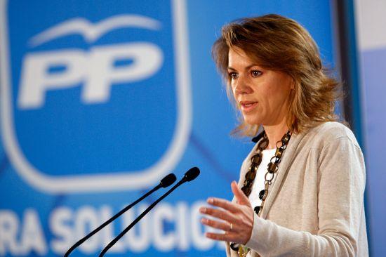 María Dolores de Cospedal ha anunciado que presentará un expediente a Anticorrupción
