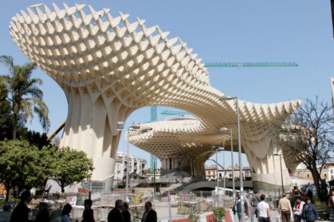 El espacio público Metropol Parasol será inaugura el domingo 27 de marzo a las 18:00 horas