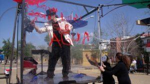 Pasacalles organizado por Ingenieros sin Fronteras en la Alameda con motivo del Día Mundial del Agua. /SA