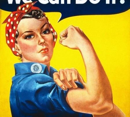 'Rosie the riveter' pasó de ser un cartel de propganda bélica a convertirse en todo un símbolo feminista./A.Copete
