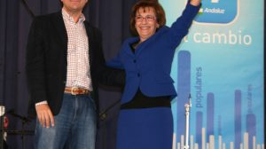 José Luis Sanz y Mª Carmen Rodríguez Hornillo hoy en Alcalá/C. Rivas