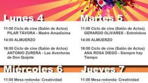 Del 4 al 7 de abril se celebrará la Semana Cultural en la Facultad de Comunicación de Sevilla/ culturafcom.blogspot.com