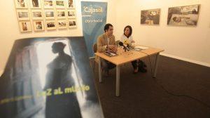José S. Gutiérrez presentando la exposición/SA