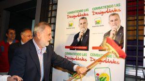 Torrijos en Amate, donde ha abierto la campaña electoral