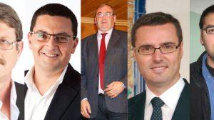 Los alcaldes de Cazalla, El Coronil, San Juan, Coria y Guillena irán a la Diputación de Sevilla