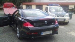 El vehículo que había sido objeto de la investigación