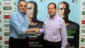 El presidente del club ha estado presente en la firma del convenio/www.realbetisbalompie.es
