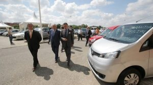 Los organizadores del Salón estiman que se adquirirán más de 800 vehículos y se llegará a una facturación de más de 15 millones de euros./Prensa FIBES