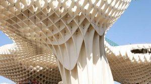 Proyecto Metropol Parasol en la Plaza de la Encarnación de Sevilla