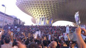 Más de 55.000 personas han participado en la manifestación según la organización/@omixam
