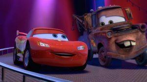 Las estrellas del nuevo filme de Pixar, Rayo McQueen y Mate