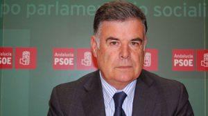 El secretario general del PSOE de Sevilla, José Antonio Viera
