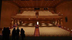 El nuevo teatro, con casi mil localidades, fue inaugurado antes de las elecciones municipales de 2011