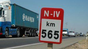 El punto kilométrico 565 ha sido la zona donde se han producido los últimos accidentes