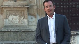 Martín de la Herrán fue candidato a la Alcaldía de Jerez y ahora candidato a la Presidencia de la Junta