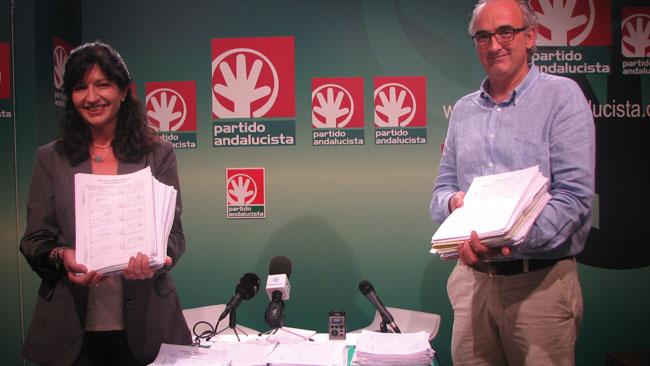 """González y Álvarez Ossorio confían en """"devolver el andalucismo"""" al Congreso"""