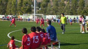 El estadio municipal de Villanueva de San Juan ha acogido la jornada inaugural /A.Copete