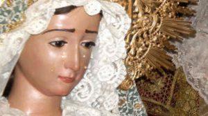 La imagen de la Virgen de la Paz será restaurada por José María Calderón en Marchena / Crédito de fotografía: Juan Carlos Romero